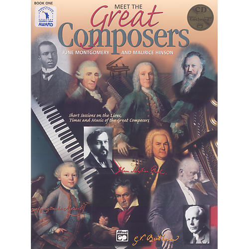 Alfred Meet the Great Composers: Classroom Kit Book 1 Book & CD thumbnail