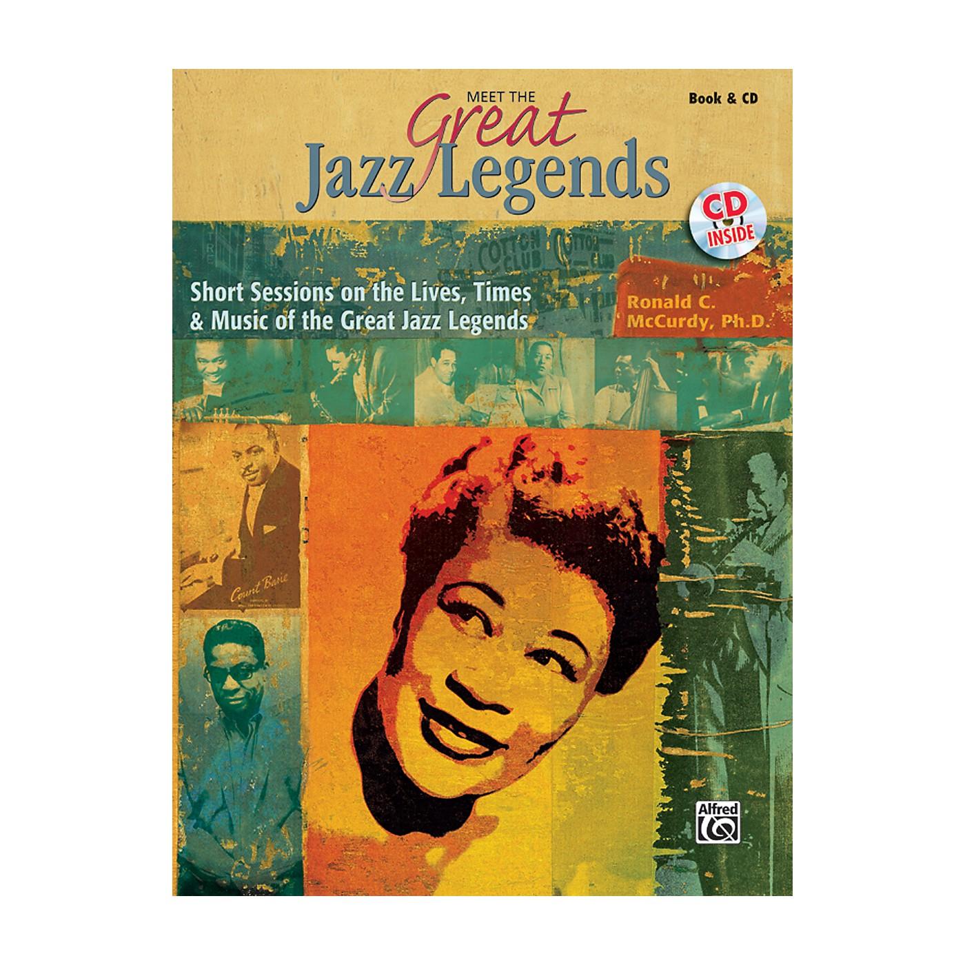 Alfred Meet the Great Jazz Legends Book & CD thumbnail