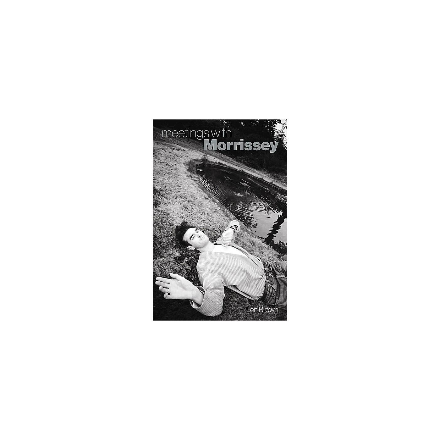 Omnibus Meetings with Morrissey Omnibus Press Series Hardcover thumbnail