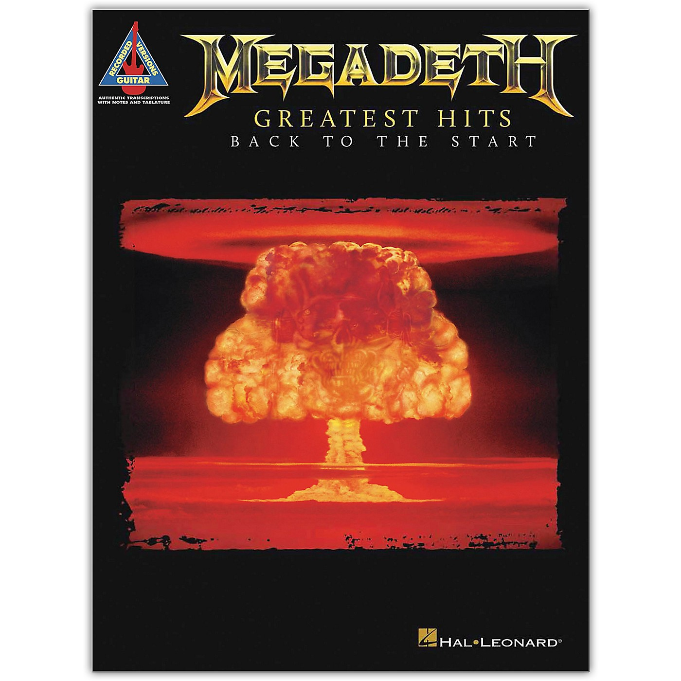 Hal Leonard Megadeth - Greatest Hits: Back to the Start Guitar Tab Songbook thumbnail