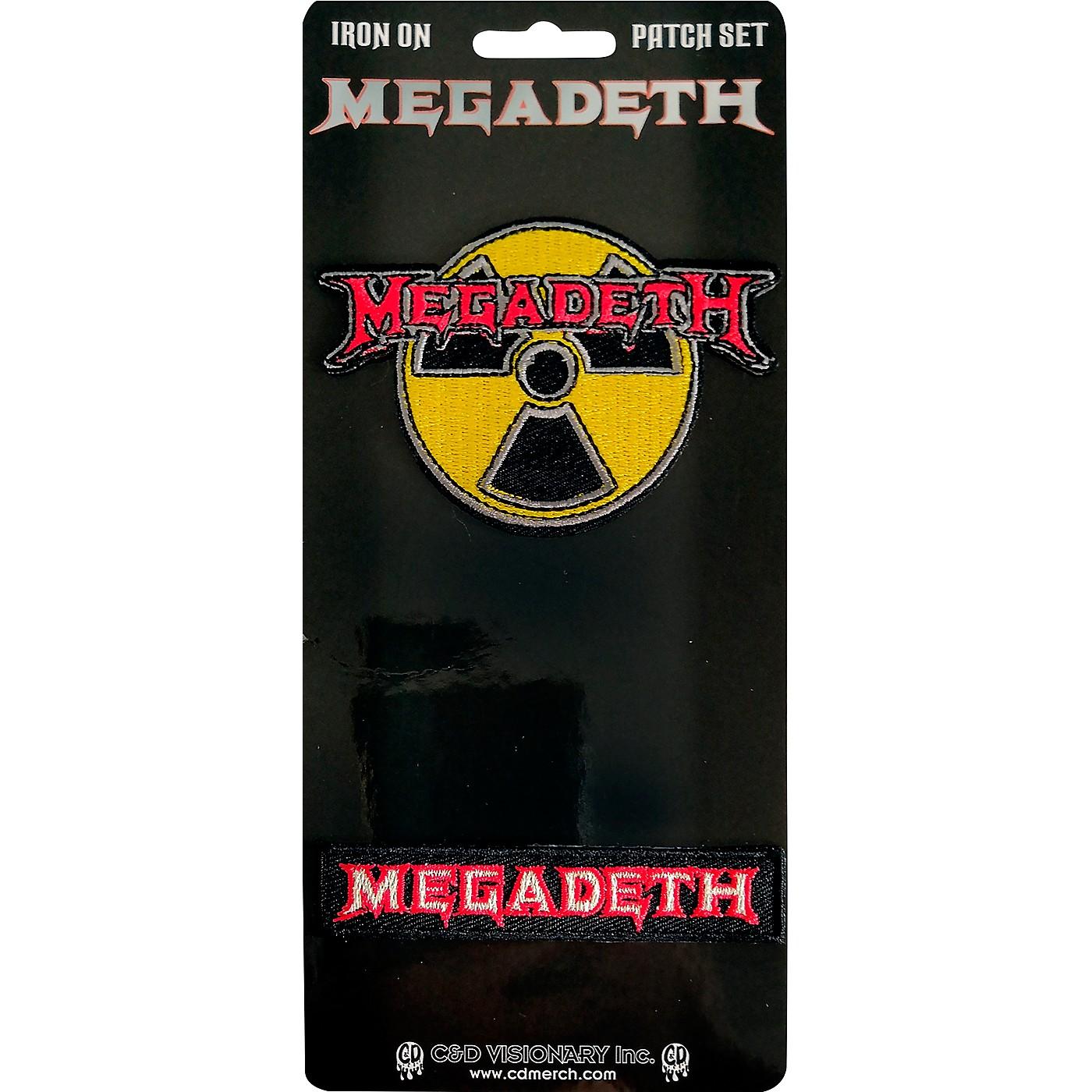 C&D Visionary Megadeth 2 Piece Patch Set thumbnail