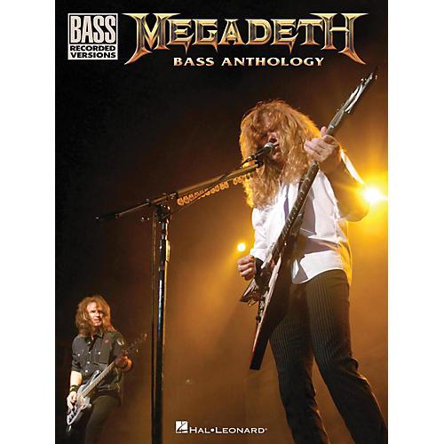 Hal Leonard Megadeth Bass Anthology-thumbnail