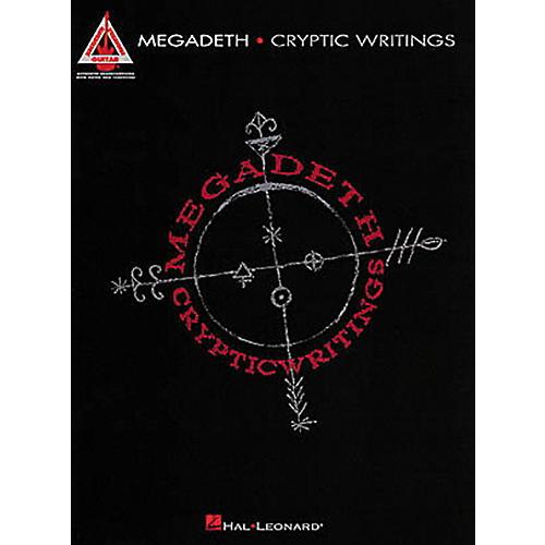 Hal Leonard Megadeth Cryptic Writings Guitar Tab Songbook thumbnail