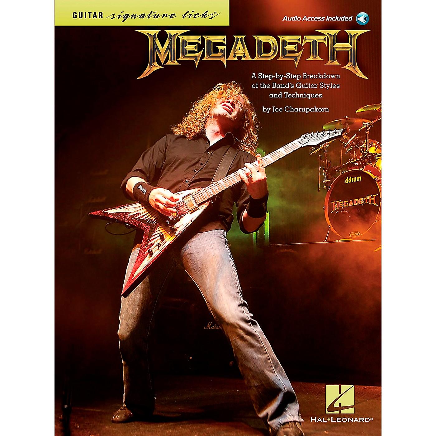 Hal Leonard Megadeth Guitar Signature Licks Book/CD thumbnail
