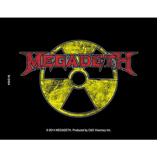 C&D Visionary Megadeth Radioactive Magnet thumbnail