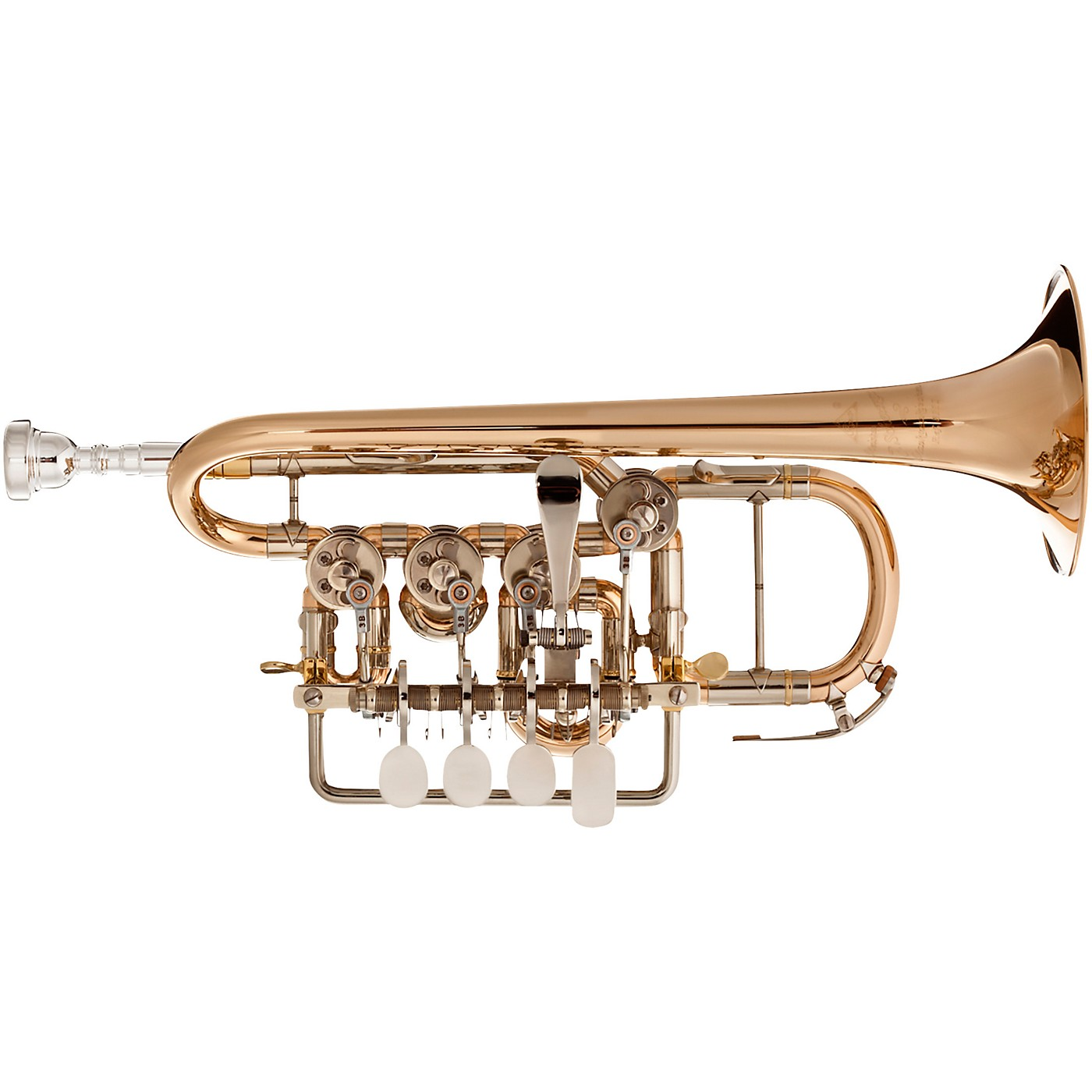 Scherzer Meister Johannes Rotary Valve Piccolo Trumpet thumbnail