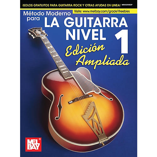 Mel Bay Mel Bay's Modern Guitar Method Grade 1, Expanded (Spanish Edition) thumbnail