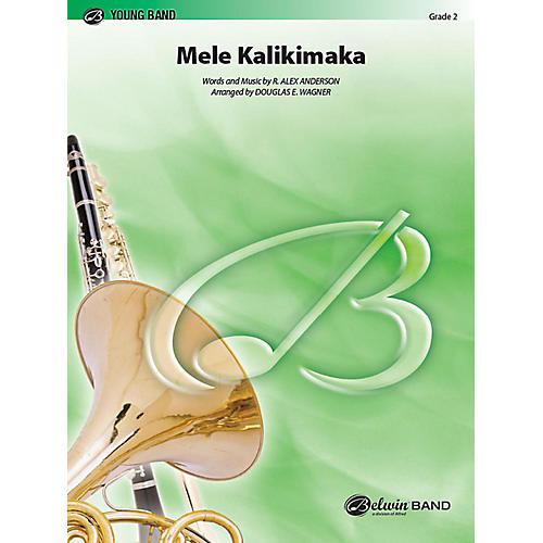 Alfred Mele Kalikimaka Concert Band Grade 2 Set thumbnail