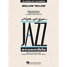 Hal Leonard Mellow Yellow Jazz Band Level 2 Arranged by Paul Murtha