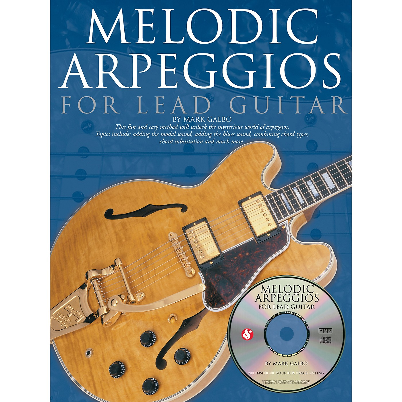 Music Sales Melodic Arpeggios for Lead Guitar Music Sales America Series Softcover with CD Written by Mark Galbo thumbnail