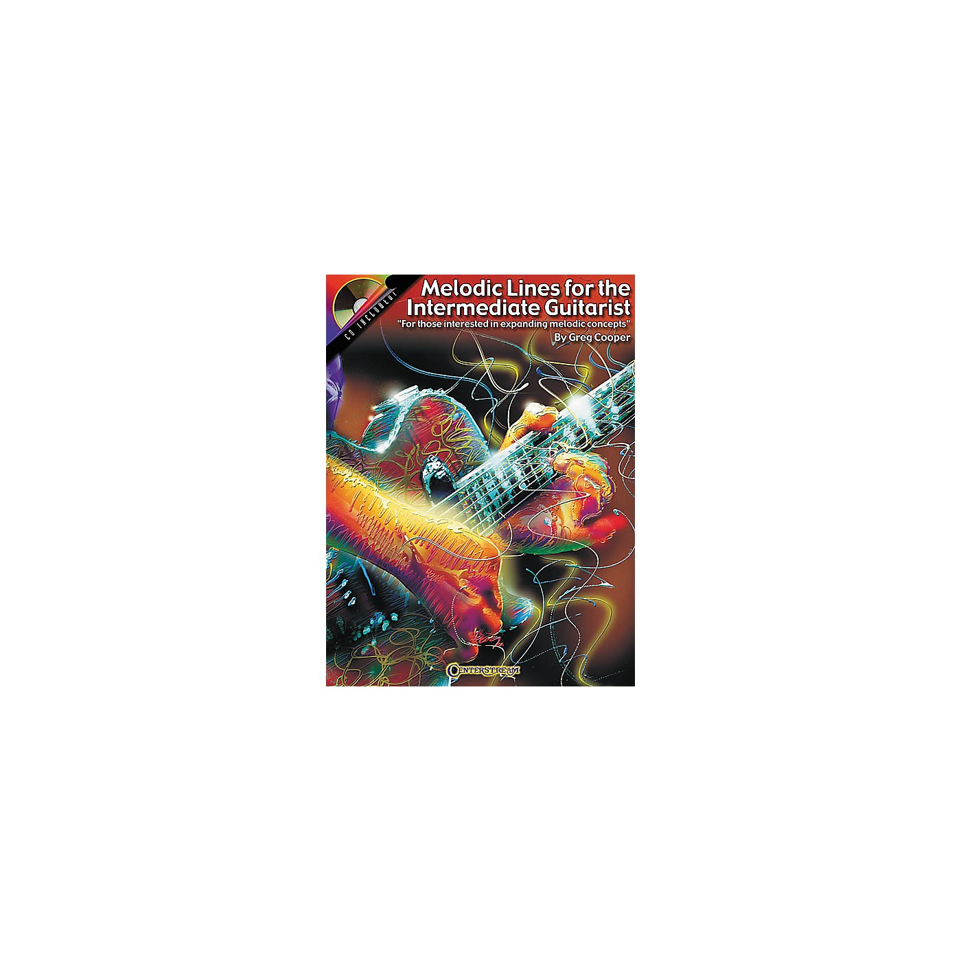 Centerstream Publishing Melodic Lines for the Intermediate Guitarist (Book/CD) thumbnail