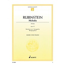 Schott Melodie Op. 3, No. 1 (Horn and Piano) Misc Series