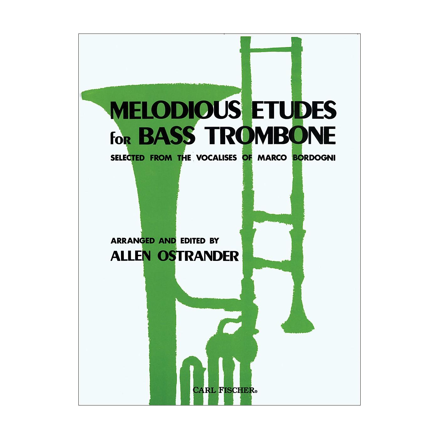 Carl Fischer Melodious Etudes for Bass Trombone thumbnail