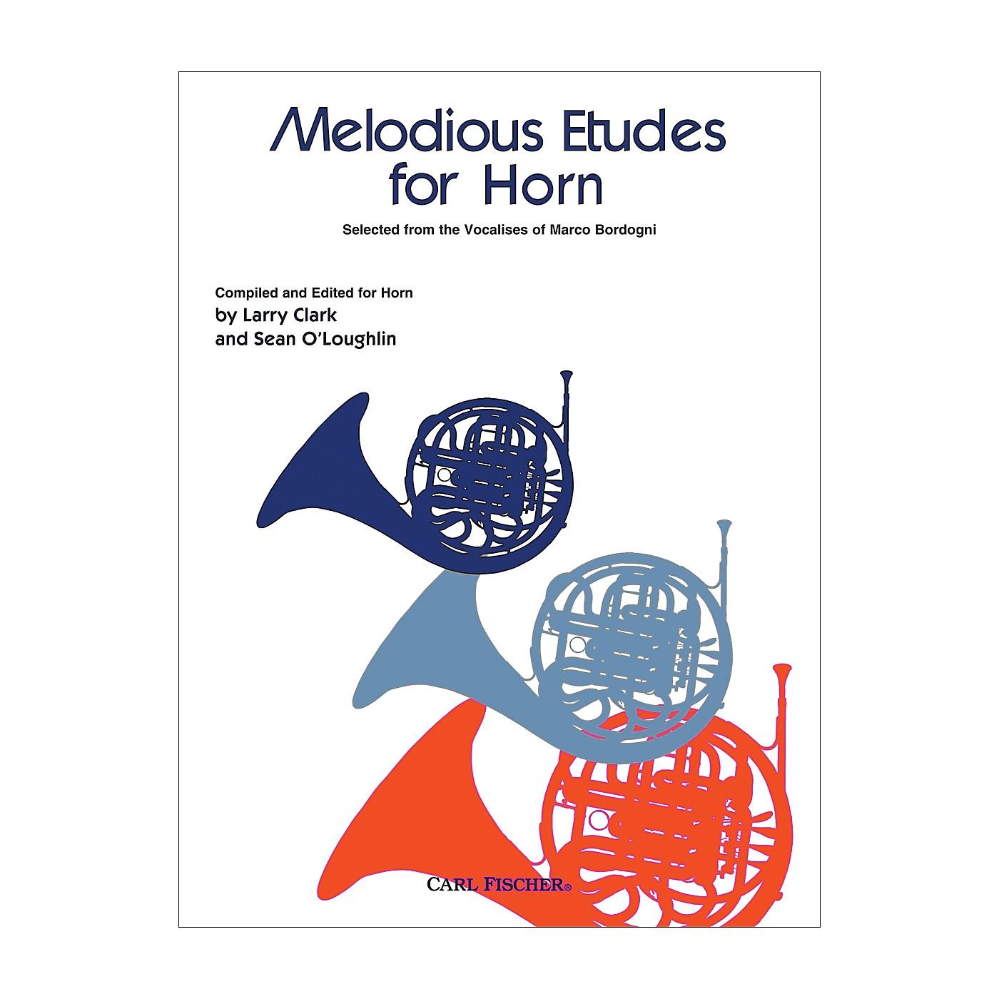Carl Fischer Melodious Etudes for Horn thumbnail