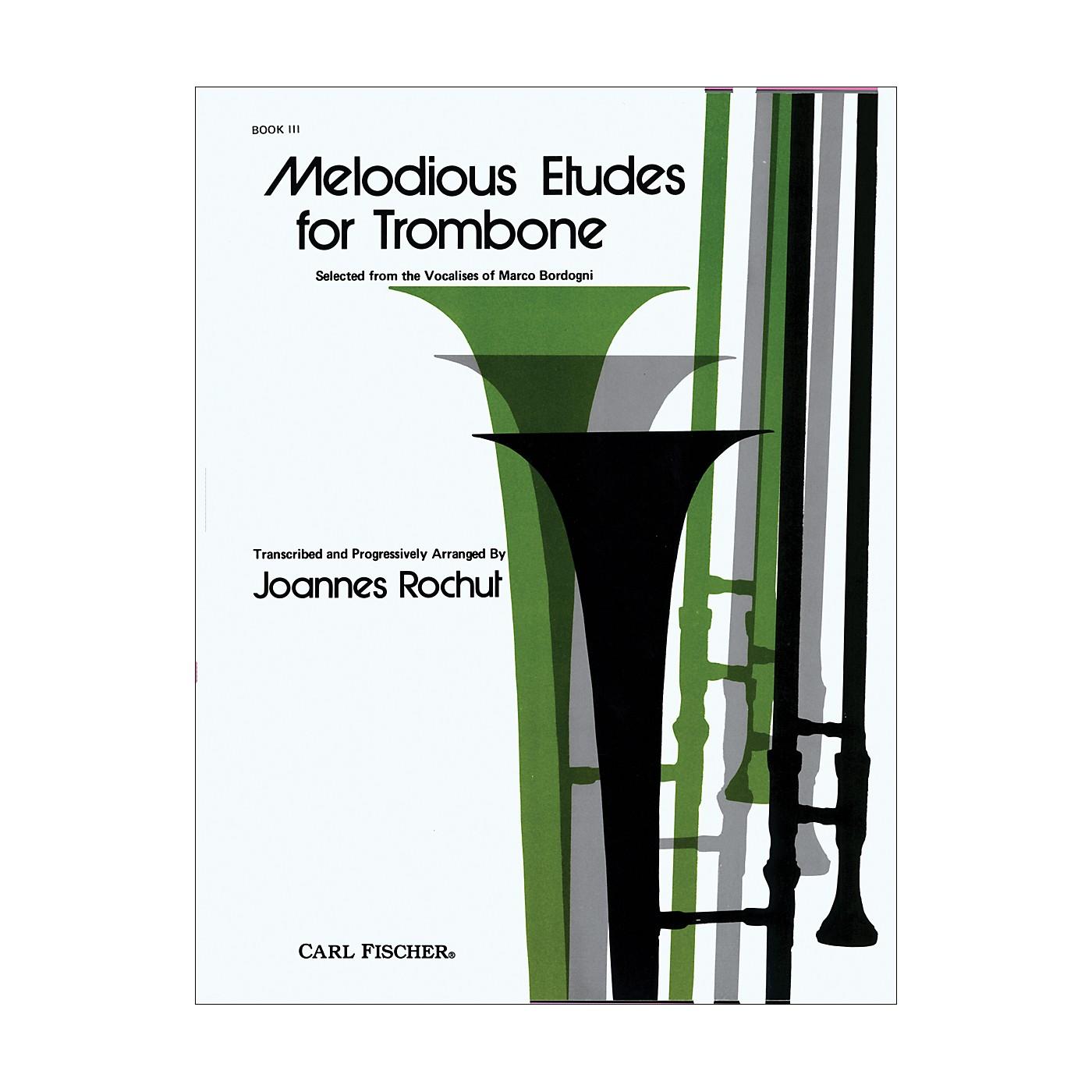 Carl Fischer Melodious Etudes for Trombone Series thumbnail
