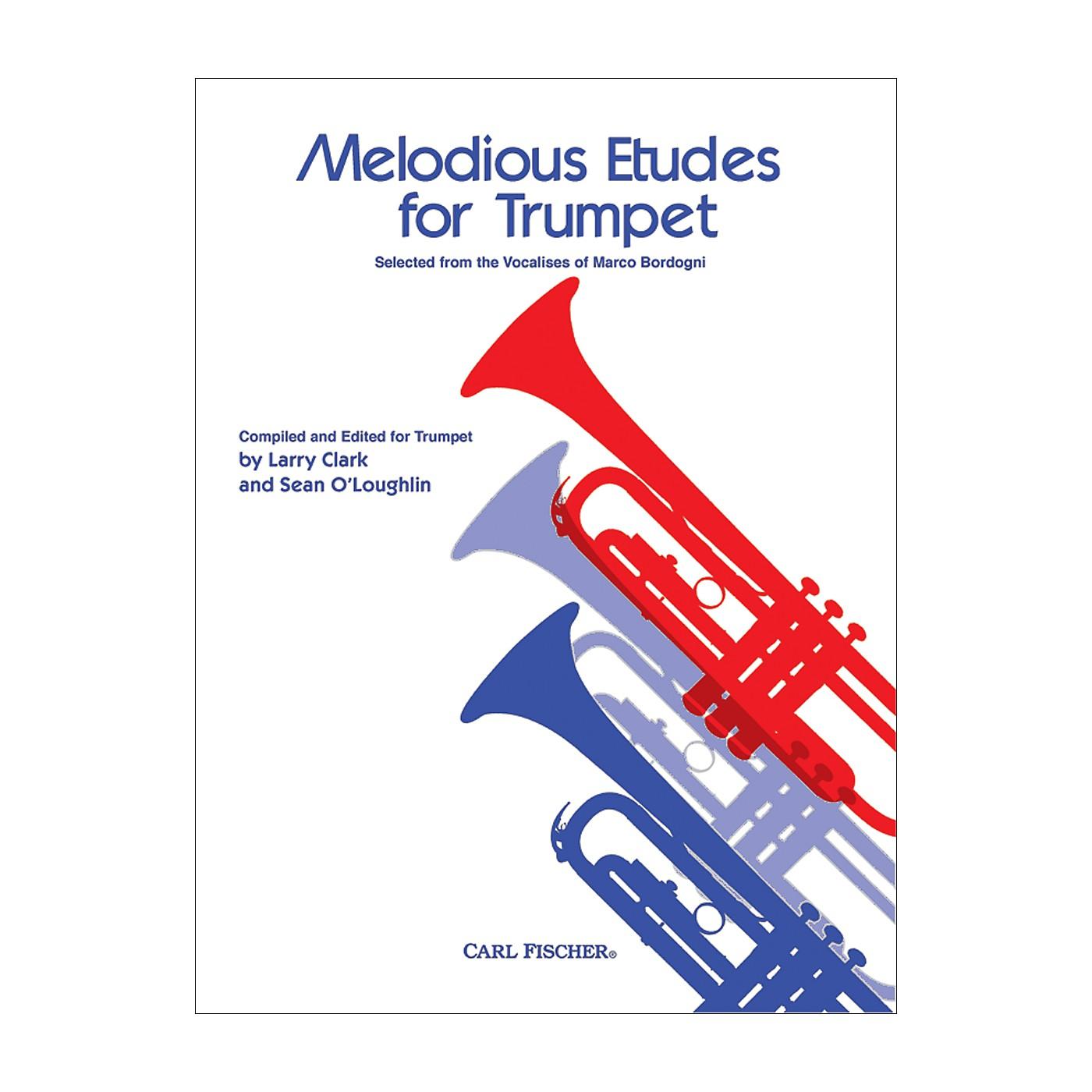 Carl Fischer Melodious Etudes for Trumpet thumbnail