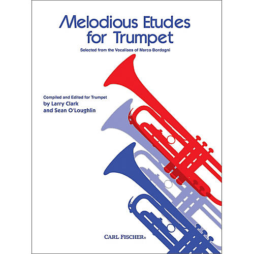 Carl Fischer Melodious Etudes for Trumpet thumbnail