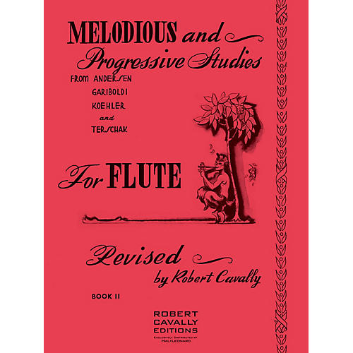 Hal Leonard Melodious and Progressive Studies for Flute (Book 2) Robert Cavally Editions Series thumbnail