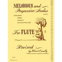 Hal Leonard Melodious and Progressive Studies for Flute (Book 3) Robert Cavally Editions Series