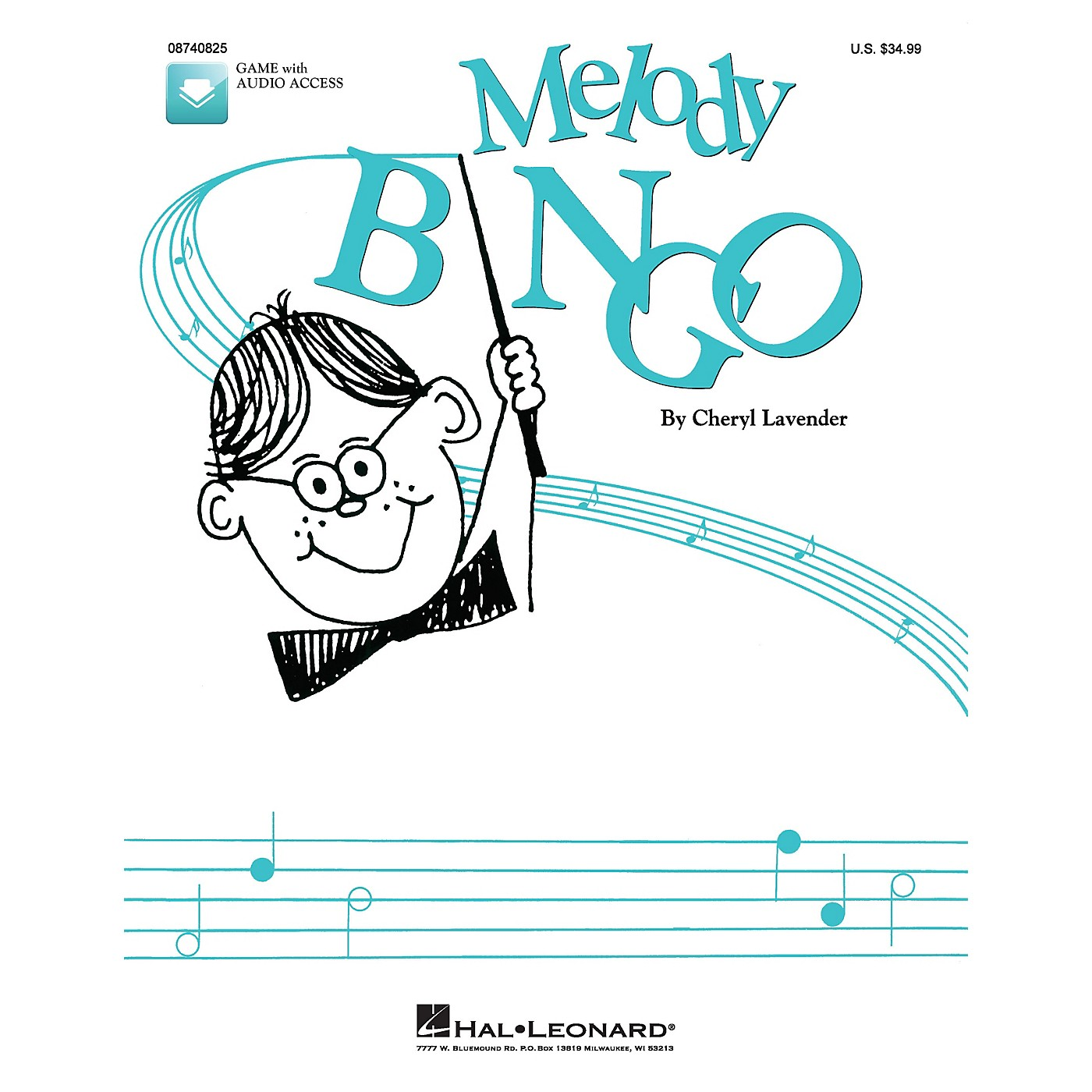 Hal Leonard Melody Bingo (Replacement CD) CD Composed by Cheryl Lavender thumbnail