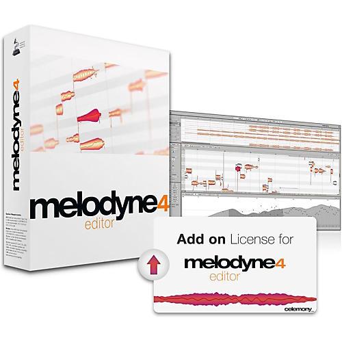 Celemony Melodyne 4 Editor Add-on License thumbnail