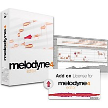 Celemony Melodyne 4 Studio Add-on License