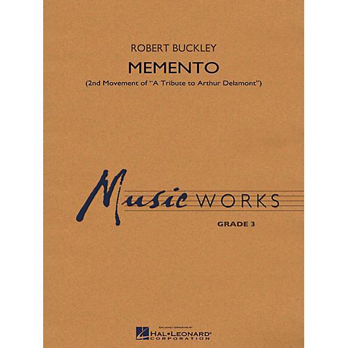 Hal Leonard Memento (2nd Mvt Of  A Tribute To Arthur Delamont) Concert Band Level 3 thumbnail
