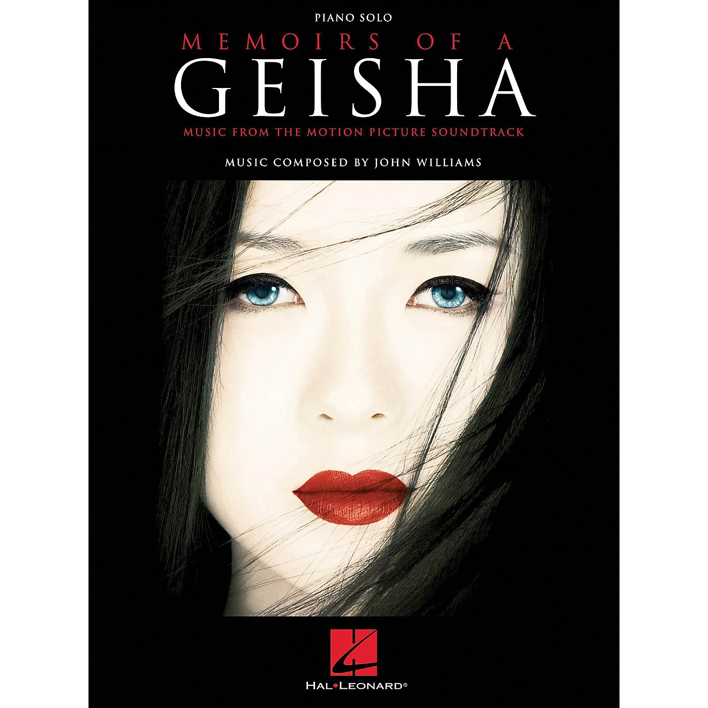 Hal Leonard Memoirs Of A Geisha Piano Solo Music From The Motion Picture Soundtrack thumbnail