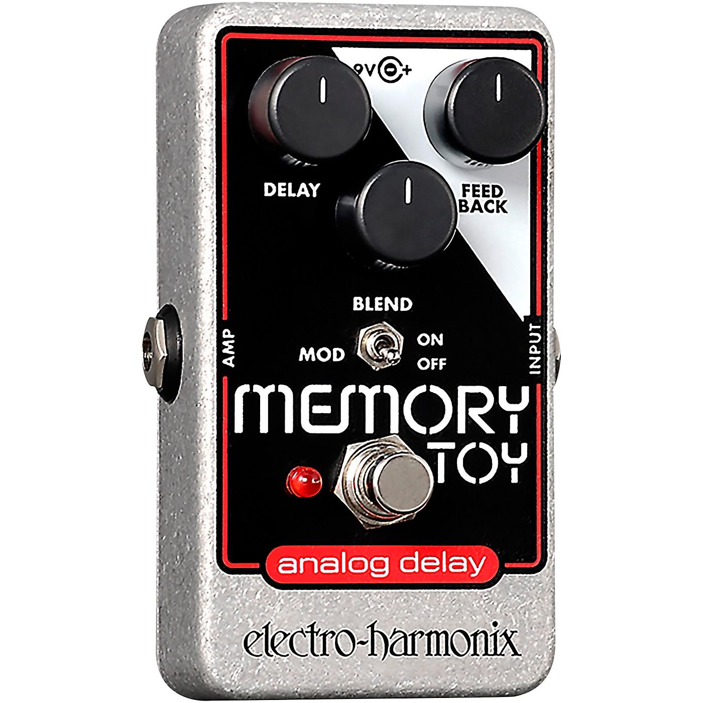 Electro-Harmonix Memory Toy Analog Echo and Chorus Guitar Effects Pedal thumbnail