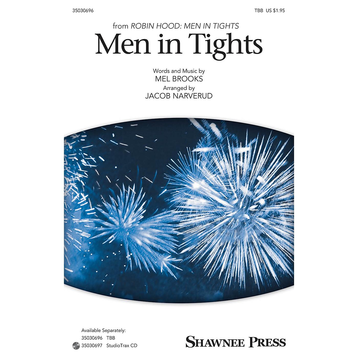 Shawnee Press Men in Tights TBB arranged by Jacob Narverud thumbnail
