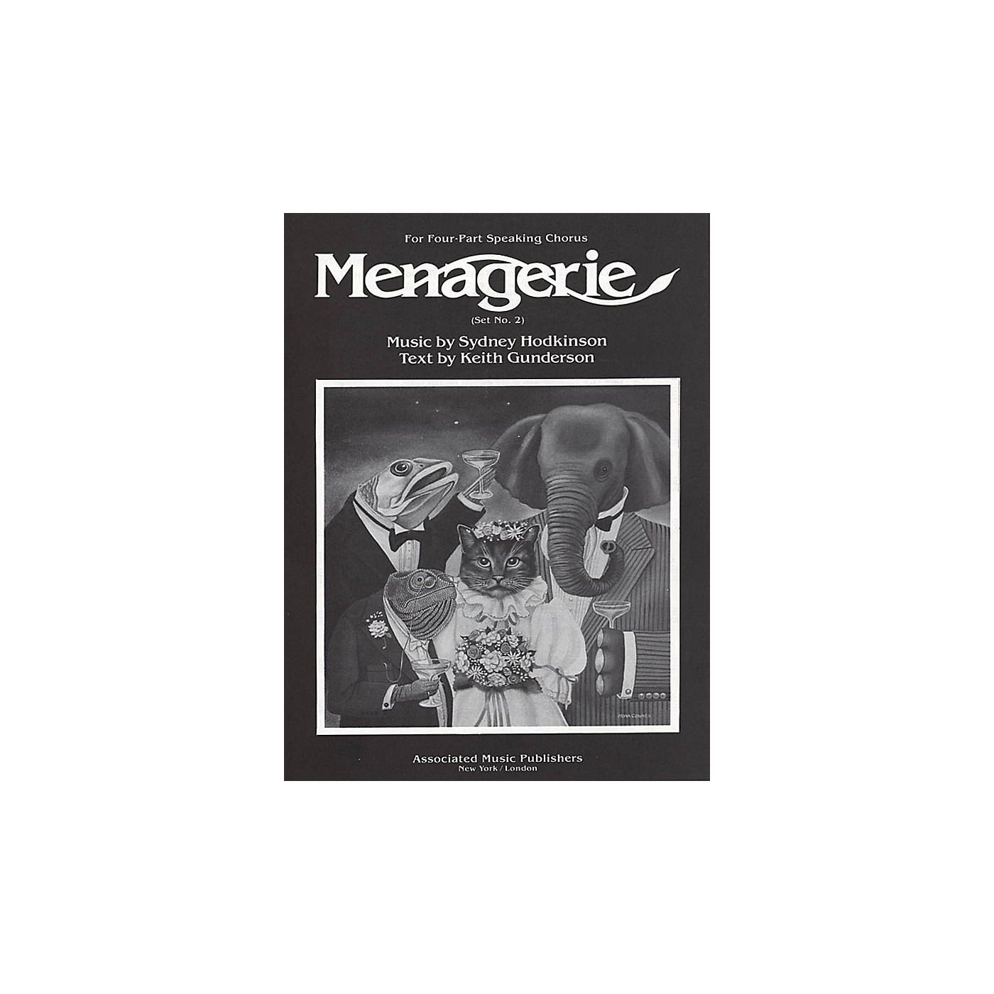 Associated Menagerie (Set No. 2) (SATB) SATB composed by Sydney Hodkinson thumbnail