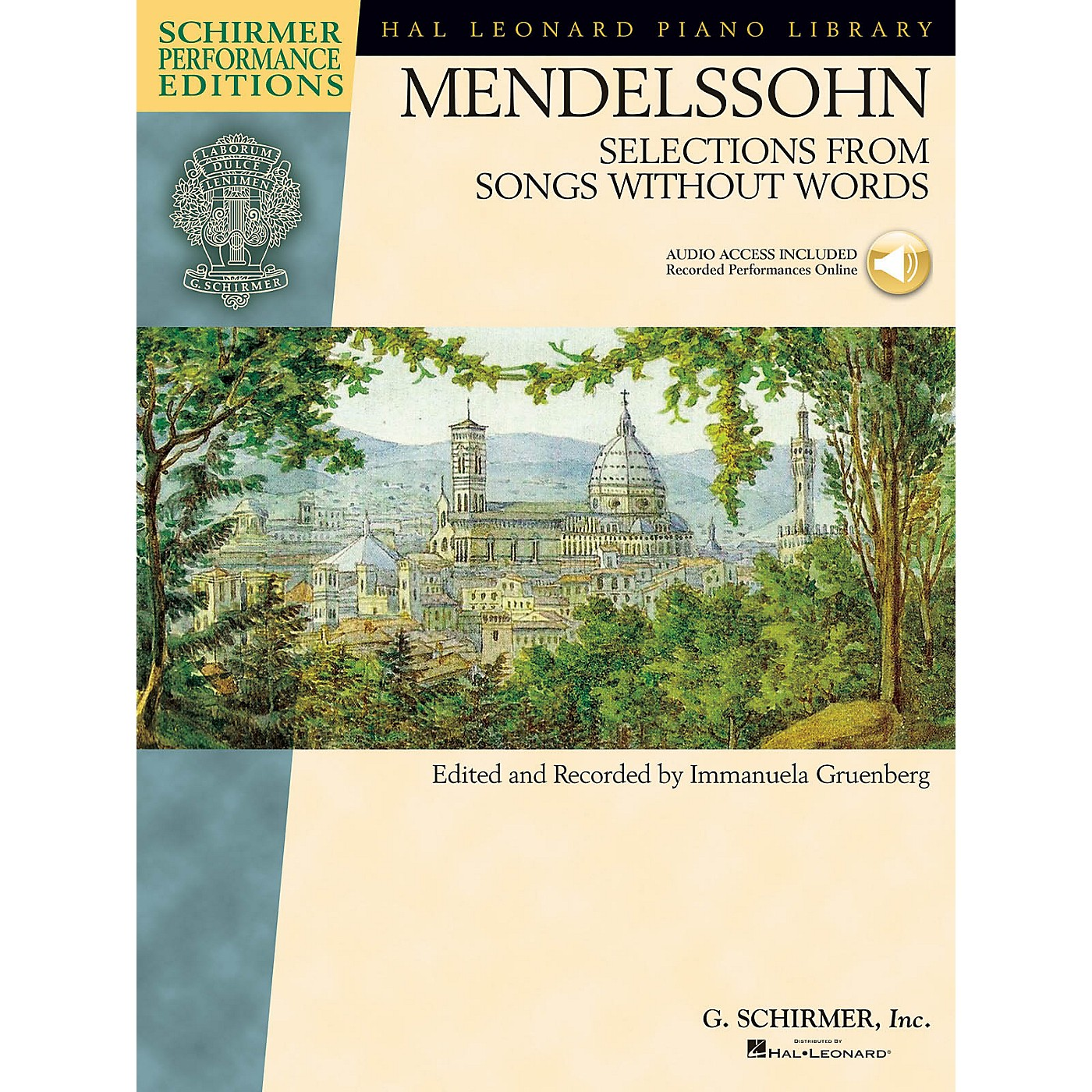 G. Schirmer Mendelssohn - Selections from Songs Without Words Schirmer Performance Edition BK/Audio Online thumbnail