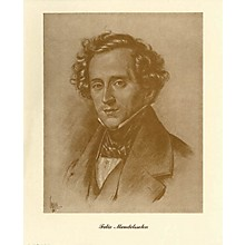 Music Sales Mendelssohn (Lupas Large Portrait Poster) Music Sales America Series