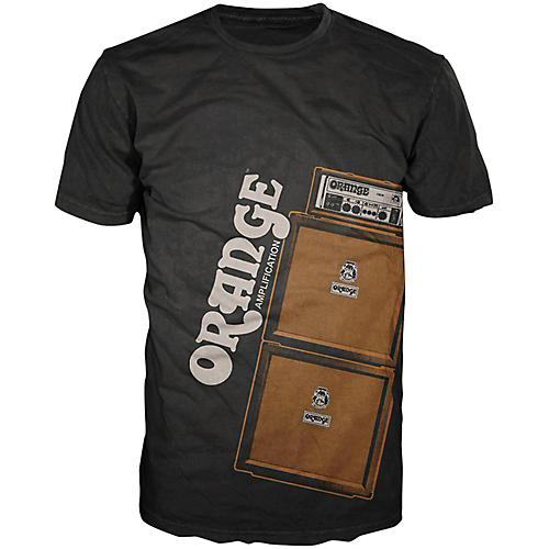 Orange Amplifiers Men's Stack T-Shirt thumbnail