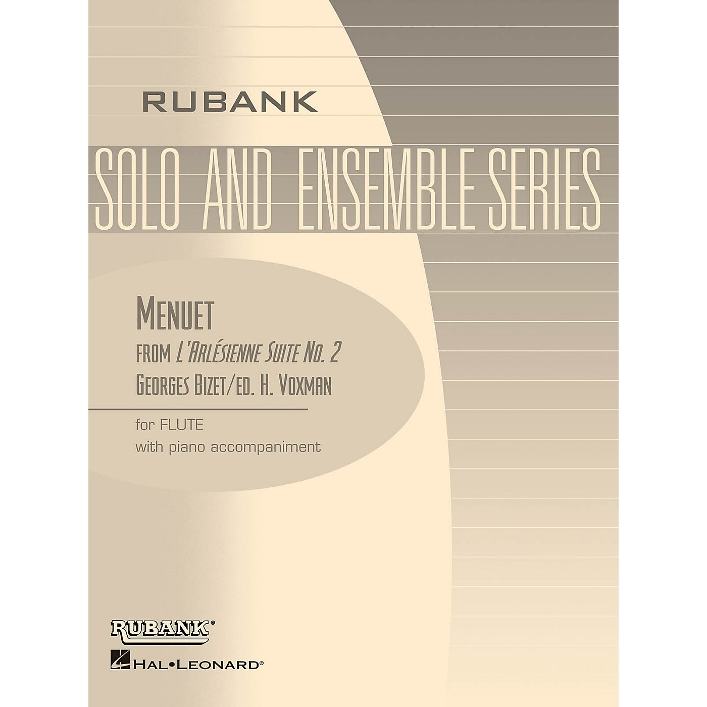 Rubank Publications Menuet from L'Arlesienne Suite No. 2 (Flute Solo with Piano - Grade 3) Rubank Solo/Ensemble Sheet Series thumbnail