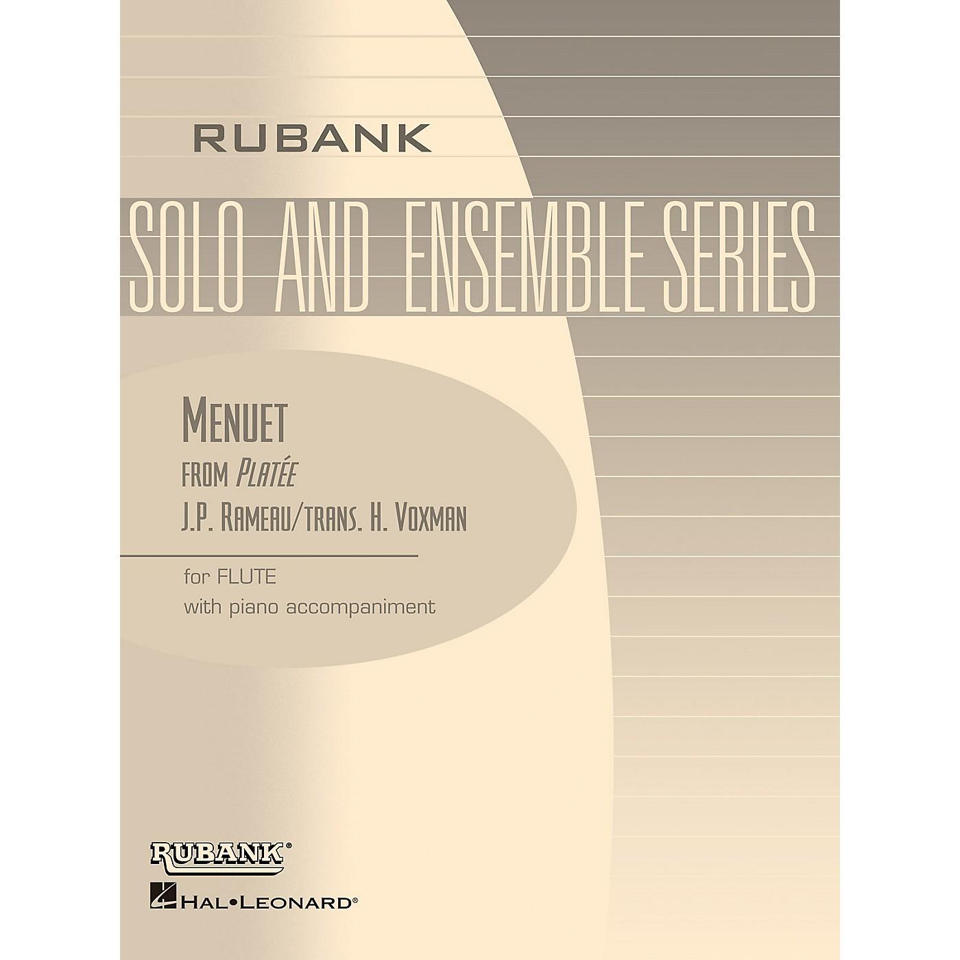 Rubank Publications Menuet from Platee (Flute Solo with Piano - Grade 2.5) Rubank Solo/Ensemble Sheet Series thumbnail