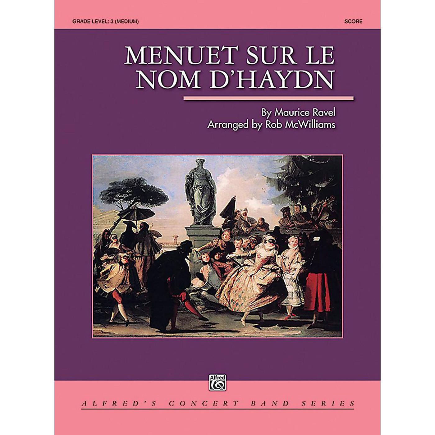 Alfred Menuet sur le nom d'Haydn Concert Band Grade 3 Set thumbnail