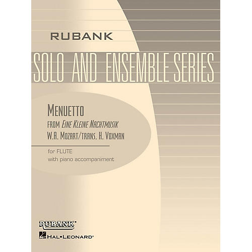 Rubank Publications Menuetto from Eine Kleine Nachtmusik Rubank Solo/Ensemble Sheet Series Softcover thumbnail