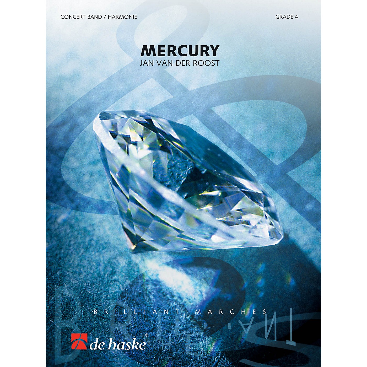De Haske Music Mercury Concert Band Level 4 Composed by Jan Van der Roost thumbnail