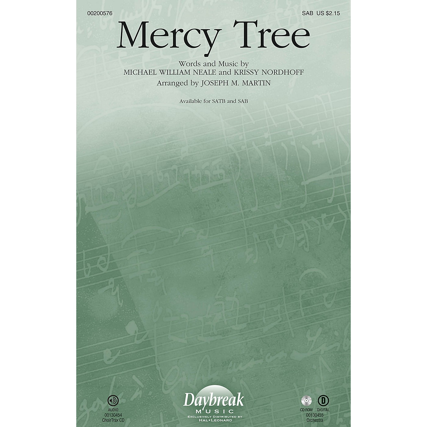 Daybreak Music Mercy Tree SAB by Lacey Sturm arranged by Joseph M. Martin thumbnail