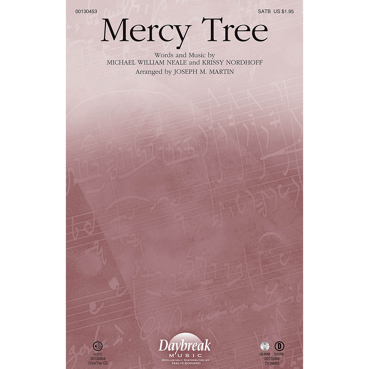 Daybreak Music Mercy Tree SATB by Lacey Sturm arranged by Joseph M. Martin thumbnail