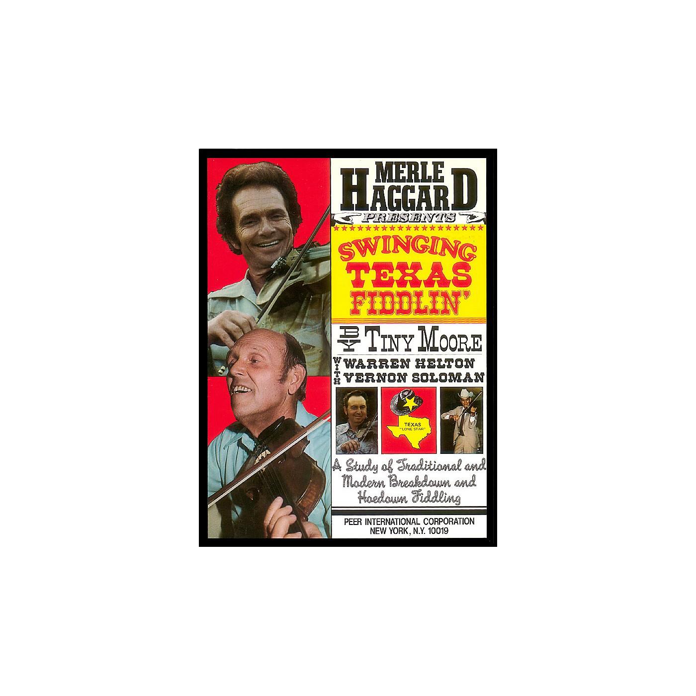 Hal Leonard Merle Haggard Presents Swinging Texas Fiddlin' Peer Music Series thumbnail