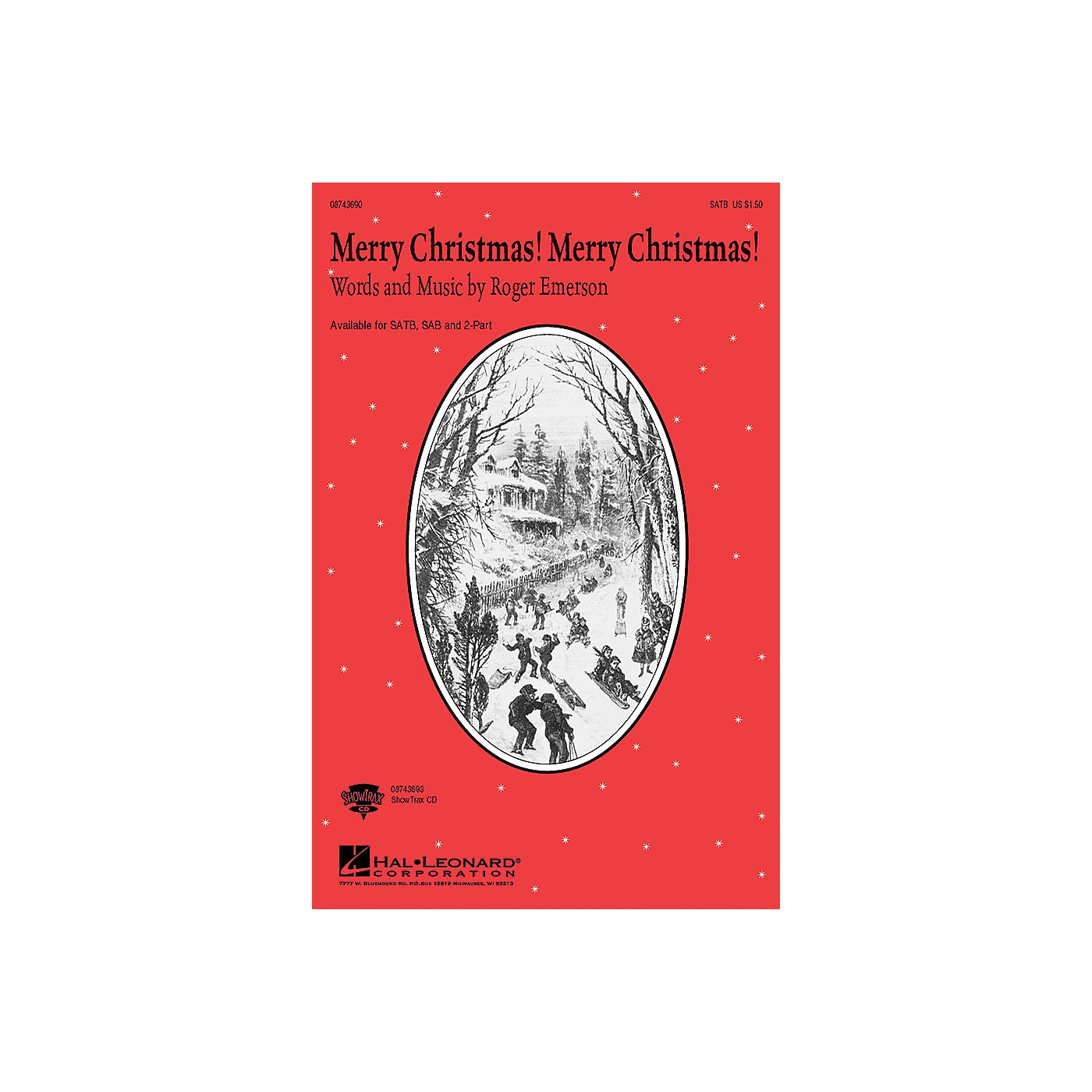 Hal Leonard Merry Christmas! Merry Christmas! 2-Part Composed by Roger Emerson thumbnail