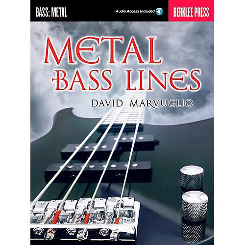 Berklee Press Metal Bass Lines - Berklee Press Book/Online Audio thumbnail
