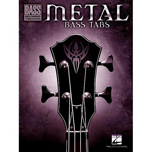Hal Leonard Metal Bass Tabs thumbnail