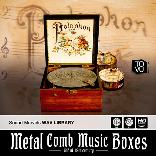 Best Service Metal Comb Music Boxes thumbnail