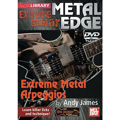 Mel Bay Metal Edge: Extreme Metal Arpeggios thumbnail