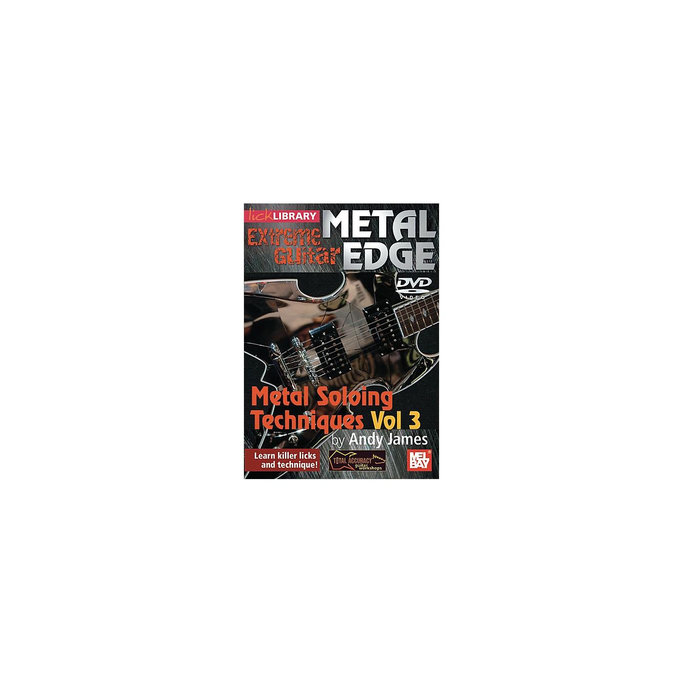 Mel Bay Metal Edge: Metal Soloing Techniques Vol. 3 DVD thumbnail