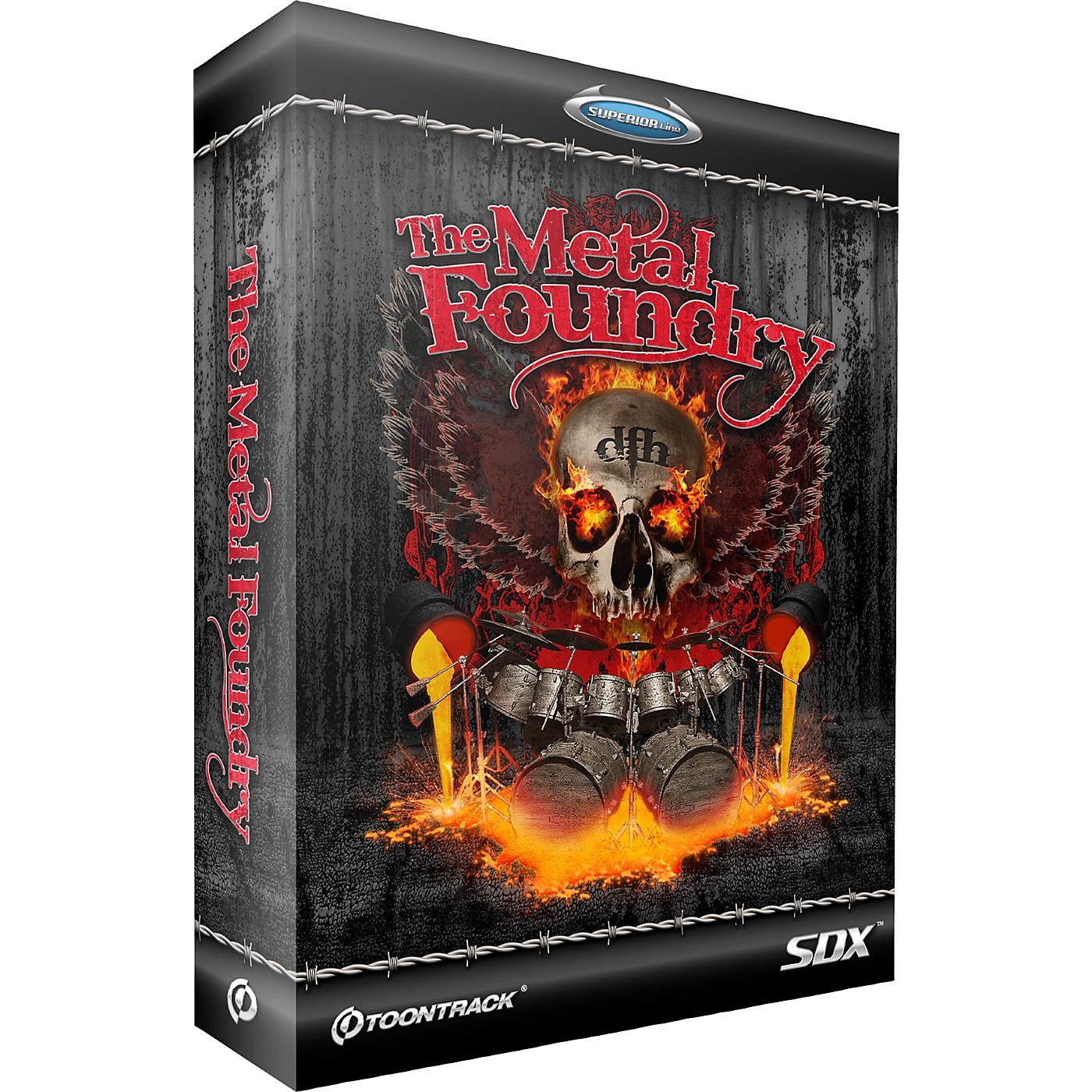 Toontrack Metal Foundry SDX thumbnail