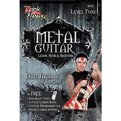 Hal Leonard Metal Guitar - Leads, Runs & Rythyms Level 2, Featuring Dan Jacobs (DVD)-thumbnail